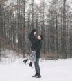 冬雪的美 美丽的心情