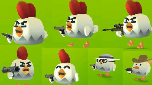 无敌战斗鸡