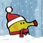 涂鸦跳跃圣诞节